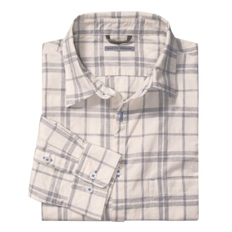 Martin Gordon Plaid Shirt - Long Sleeve (For Men)