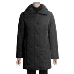Excelled Walker Coat - Diamond Quilt (For Women)