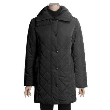 Excelled Walker Coat - Diamond Quilt (For Women)