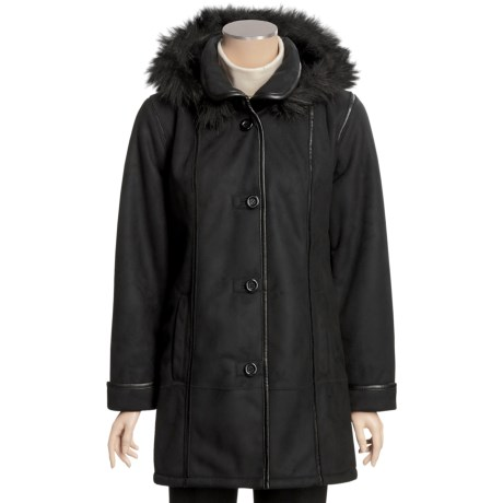 Columbia Sportswear Heavy Faux-Shearling Coat - Hooded (For Women)