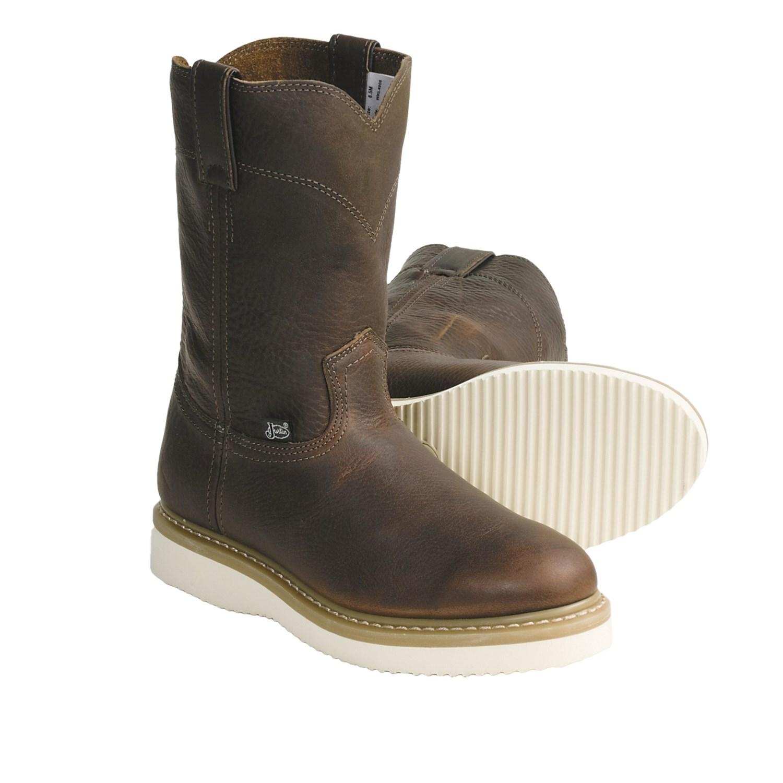 Original Womenu0026#39;s Justinu00ae 11u0026quot; Stampede Western Boots Sorrel Apache - 213350 Cowboy U0026 Western Boots At ...
