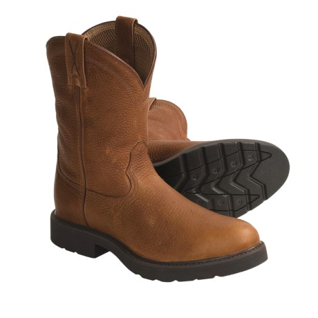 """Twisted X Boots Pull-On Work Boots - 10"""", Steel Toe (For Men)"""