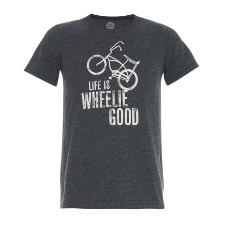 Life is good® Wheelie Good Bike Cool T-Shirt - Short Sleeve (For Boys)