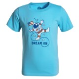 Life is good® Dream Astronaut Crusher T-Shirt - Short Sleeve (For Boys)
