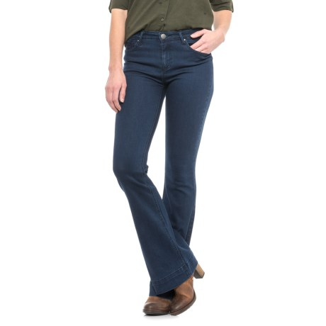 Velvet Heart Jack Super Stretch Jeans - Flared Leg (For Women)