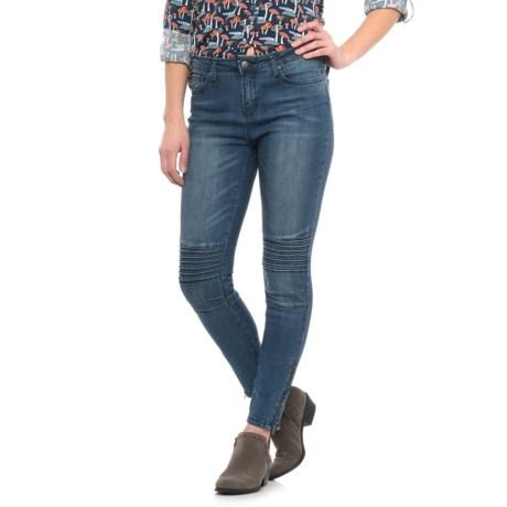 Velvet Heart Tammy Moto Skinny Jeans - Ankle Length (For Women)