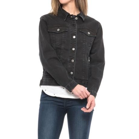 Velvet Heart Indiana Classic Denim Jacket - Stretch Cotton (For Women)