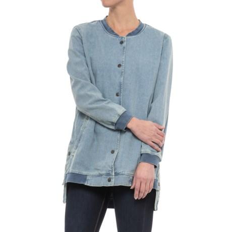 Velvet Heart Inez Denim Bomber Jacket (For Women)