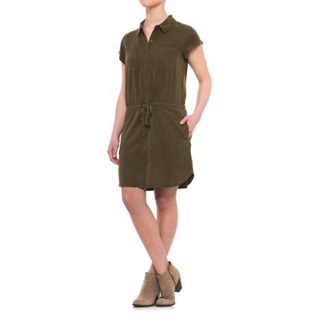 Velvet Heart Joey Shirtdress - TENCEL®, Short Sleeve (For Women)