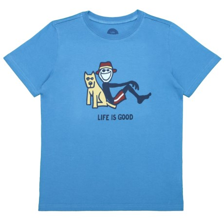 Life is good® Lean On Me Crusher T-Shirt - Short Sleeve (For Boys)