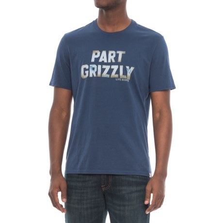 Life is good® Part Grizzly T-Shirt - Short Sleeve (For Men)