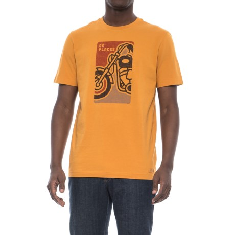 Life is good® Go Places Motorcycle T-Shirt - Short Sleeve (For Men)