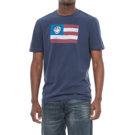 Life is good® Jake Flag Crusher T-Shirt - Short Sleeve (For Men)