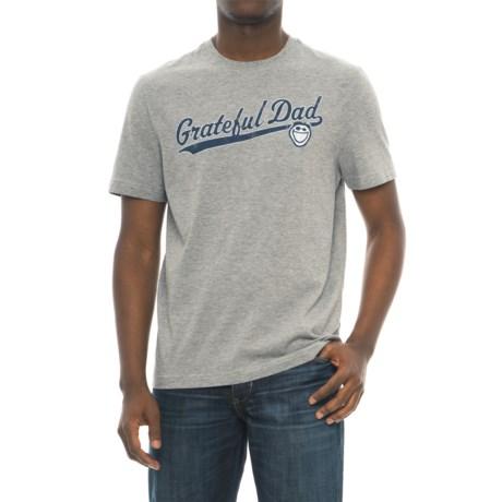 Life is good® Grateful Dad T-Shirt - Short Sleeve (For Men)