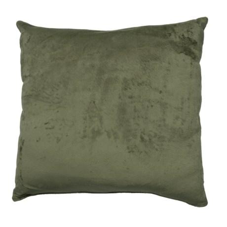 "Woolrich Sunville Faux-Suede Pillow - 22x22"", Square"