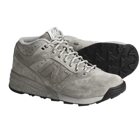 New Balance 875 Hi-Top Shoes - Suede (For Men)