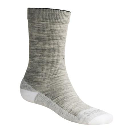 Simms Sport Crew Socks - Merino Wool (For Men and Women)