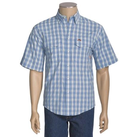 Simms Big Sky COR3 Fishing Shirt - UPF 50, Short Sleeve (For Men)