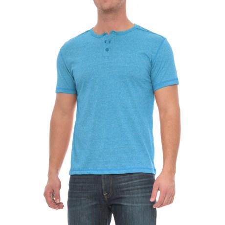 Alpha Beta Henley Shirt - Short Sleeve (For Men)