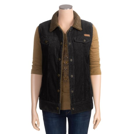 Powder River Outfitters Regina Vest - Garment-Washed Corduroy (For Women)