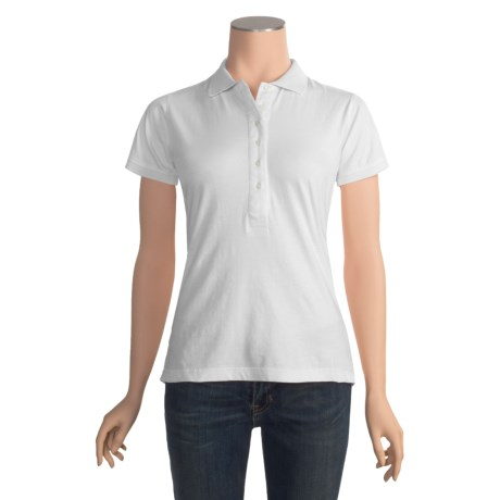 Panhandle Slim Polo Shirt - Cotton, Short Sleeve (For Women)