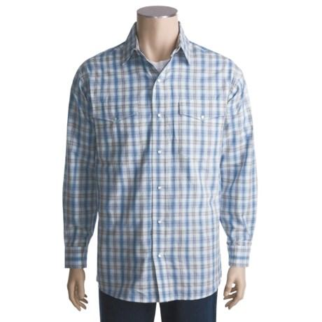 Panhandle Slim Saddlewear Plaid Shirt - Snap Front, Long Sleeve (For Men)