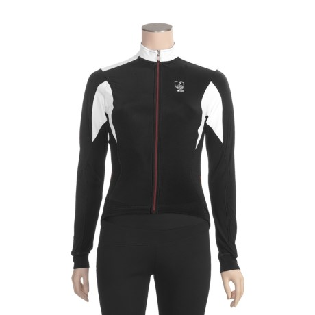Campagnolo Racing Cycling Jersey - Full Zip, Long Sleeve (For Women)