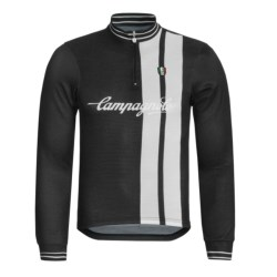 Campagnolo Heritage Sportwool Cycling Jersey - Zip Neck, Long Sleeve (For Men)