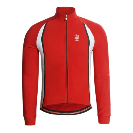 Campagnolo Racing Thermo Roubaix® Cycling Jersey - Long Sleeve, Full Zip (For Men)