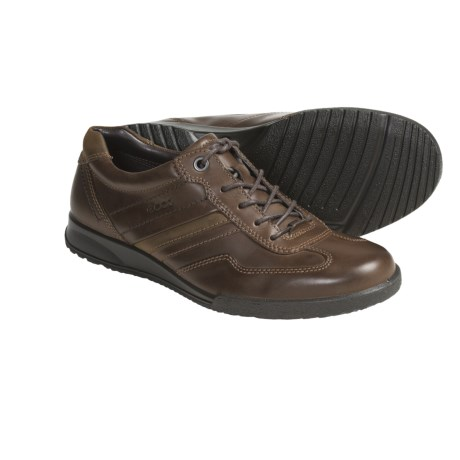 ECCO Transporter Leather Shoes - Lace-Ups (For Men)