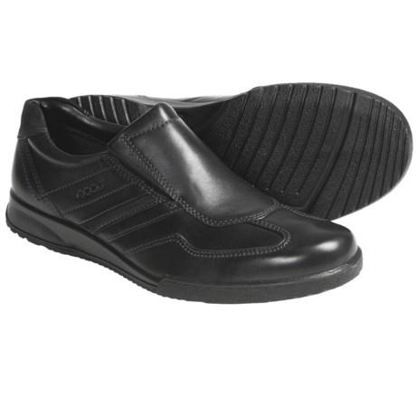 ECCO Transporter Leather Shoes - Slip-Ons (For Men)