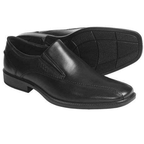 ECCO Chicago Leather Shoes - Slip-Ons (For Men)