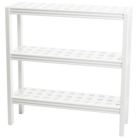 New Ridge Abingdon 3-Shelf Console Shoe Rack - Solid Birch