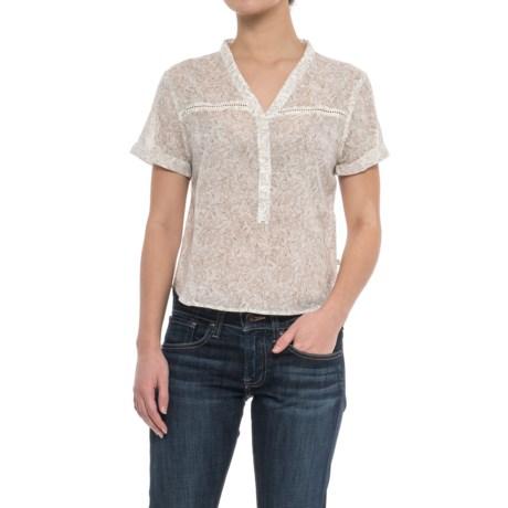 Toad&Co Airbrush Shirt - Organic Cotton, Short Sleeve (For Women)