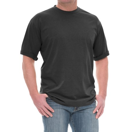 Specially made Stretch Knit Crew Shirt - Short Sleeve (For Men)