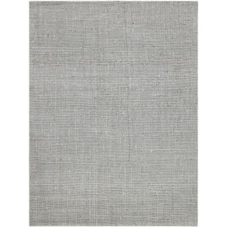 Amer Andaman Collection Silver Jute Scatter Accent Rug - 3x5'