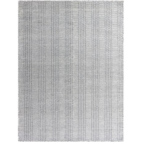 Amer Bella Collection Charcoal Area Rug - 5x8', Wool Blend