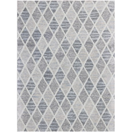 Amer Vector Collection Gray Scatter Accent Rug - 2x3', Wool Blend