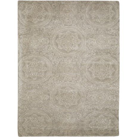 Amer Serendipity Collection Platinum Area Rug - 8x10'