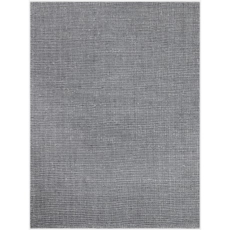 Amer Andaman Collection Stone Blue Jute Scatter Accent Rug - 3x5'