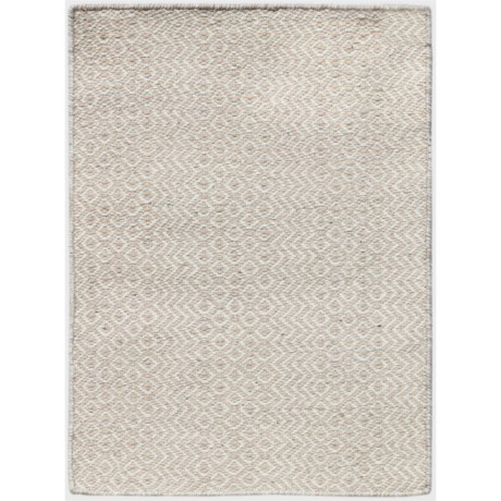 Amer Bella Collection Ivory Area Rug - 5x8', Wool Blend