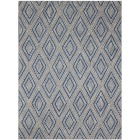 Amer Dwell Collection Gray Area Rug - 5x8'