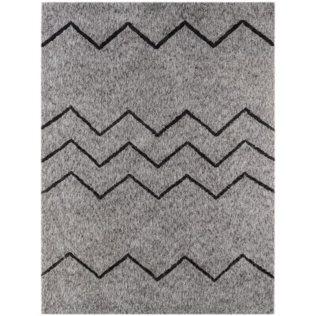Amer Bryant Collection Grey Scatter Accent Rug - 3x5'