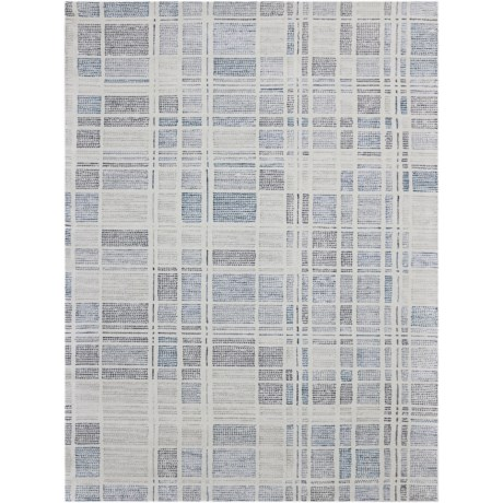 Amer Vector Collection Pewter Scatter Accent Rug - 2x3', Wool-Cotton