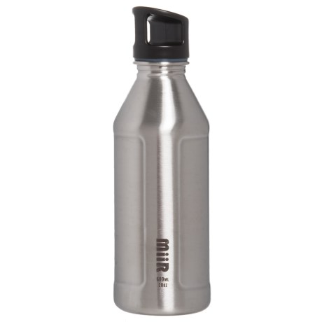 MiiR Single-Wall Water Bottle - 20 oz., BPA-Free Stainless Steel