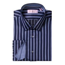 Equilibrio Hombre Plaid Sport Shirt - Long Sleeve (For Men)