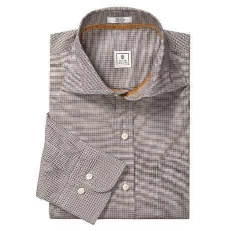 Peter Millar Check Shirt - Cutaway Spread Collar, Long Sleeve (For Men)