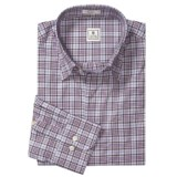 Peter Millar Cotton Twill Shirt - Tartan Plaid, Long Sleeve (For Men)