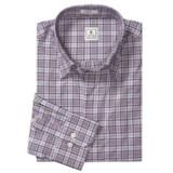 Peter Millar Cotton Twill Shirt - Tartan Plaid, Long Sleeve (For Men)