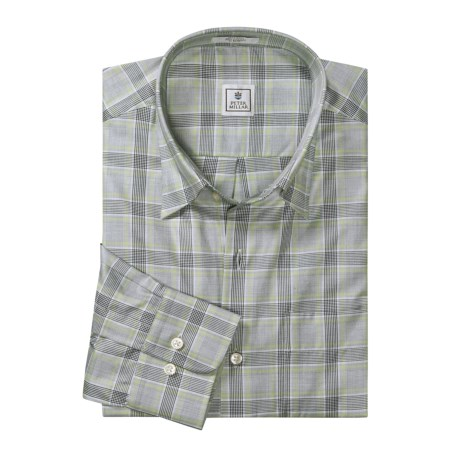 Peter Millar Classic Plaid Shirt - Long Sleeve (For Men)